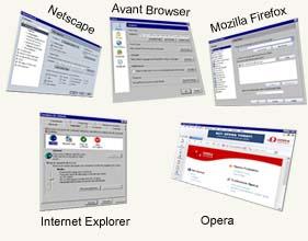 Ayuda para los siguientes navegadores..